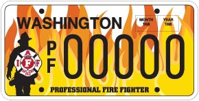 Get a WSCFF License Plate