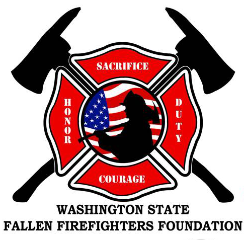 Washington state Fallen Fire Fighters logo