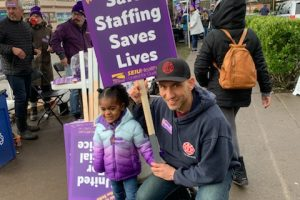 WSCFF Members Support Striking Swedish Healthcare Workers